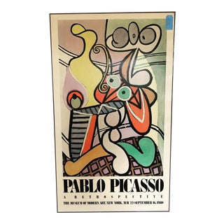 1980 Pablo Picasso Moma Poster