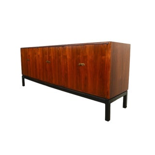 Founders Furniture Mid-Century Modern Walnut Credenza Sideboard For Sale