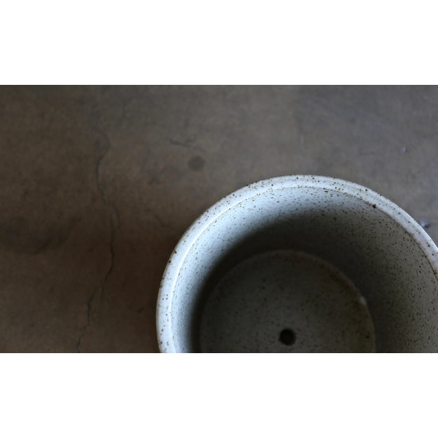 Architectural Pottery David Cressey for Architectural Pottery Small-Scale Ceramic Planter For Sale - Image 4 of 7