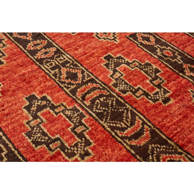 Early 21st Century Schumacher Amu Area Rug in Hand-Knotted Wool Silk, Patterson Flynn Martin For Sale - Image 5 of 7