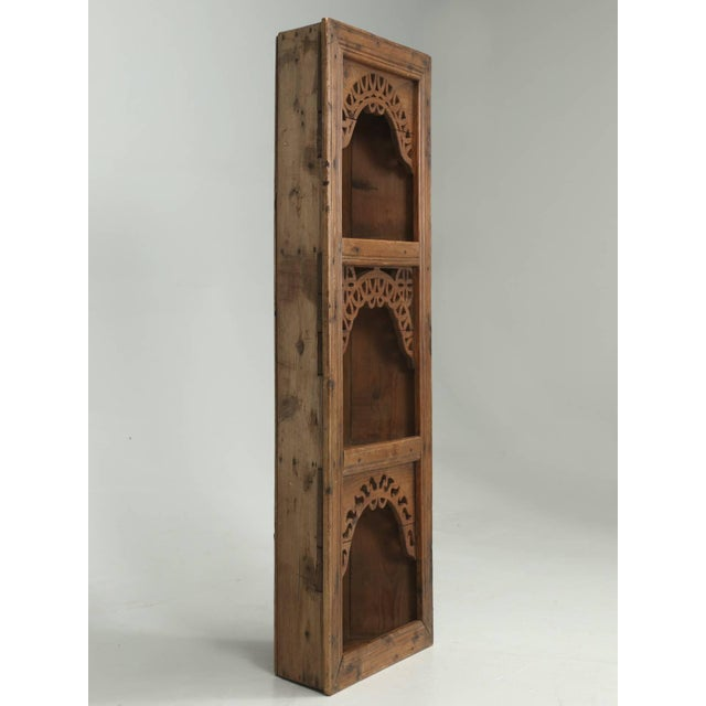 Antique Pine Hanging Shelf Unit, or Open Cupboard For Sale - Image 9 of 9