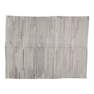 "Vintage Afghan Hand Made Organic Wool Maimana Kilim,5'8""x7'5"" For Sale"