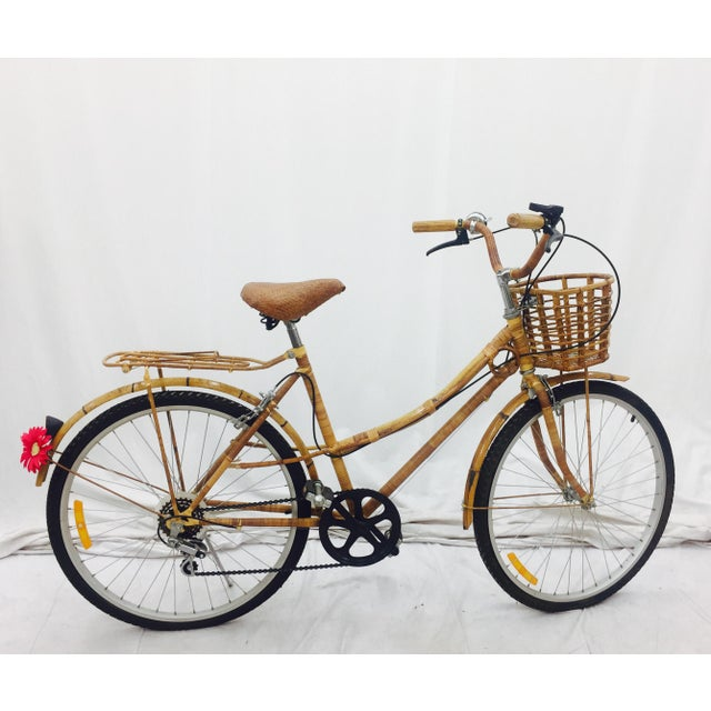 Vintage Bamboo Bicycle - Full Size - Image 2 of 11