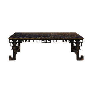 Chinese Lacquered Song Ming Style Low Kang Table Zither Stand For Sale