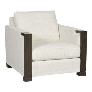 Vanguard Contemporary Art Deco Club Chairs - a Pair