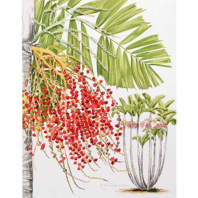 Marion Sheehan McArthur Palm Lithograph - Image 2 of 2