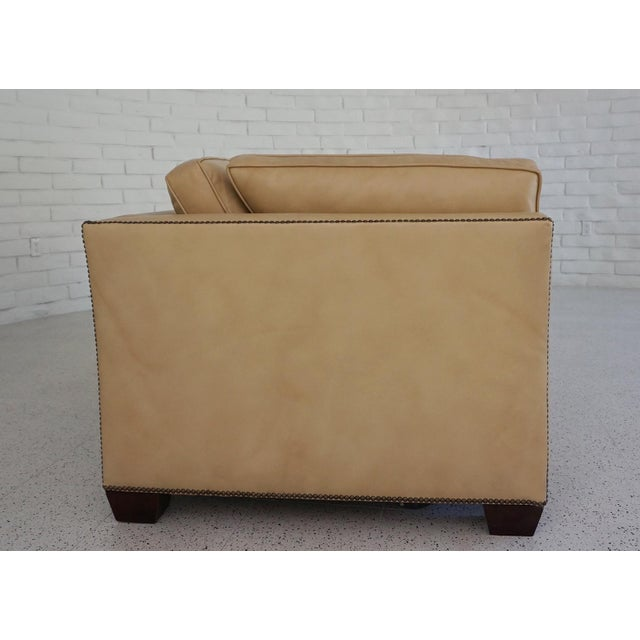 King Sleeper Sofa by Jerry's Custom Upholstery, 370 North Robertson Blvd., Los Angeles, CA. Probably from the 80s. New...