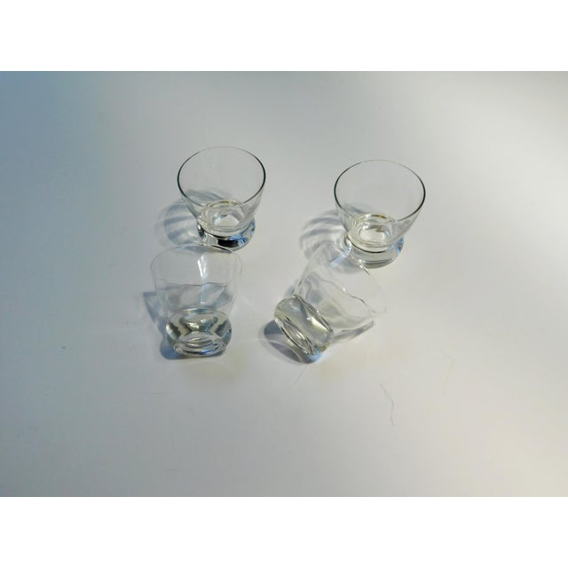 Traditional Short Aperitif Glasses - Set of 4 For Sale - Image 3 of 6