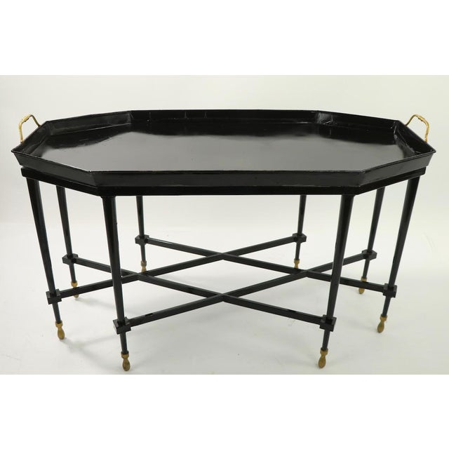 1950s Italian Tray Top Cocktail Table For Sale - Image 9 of 12