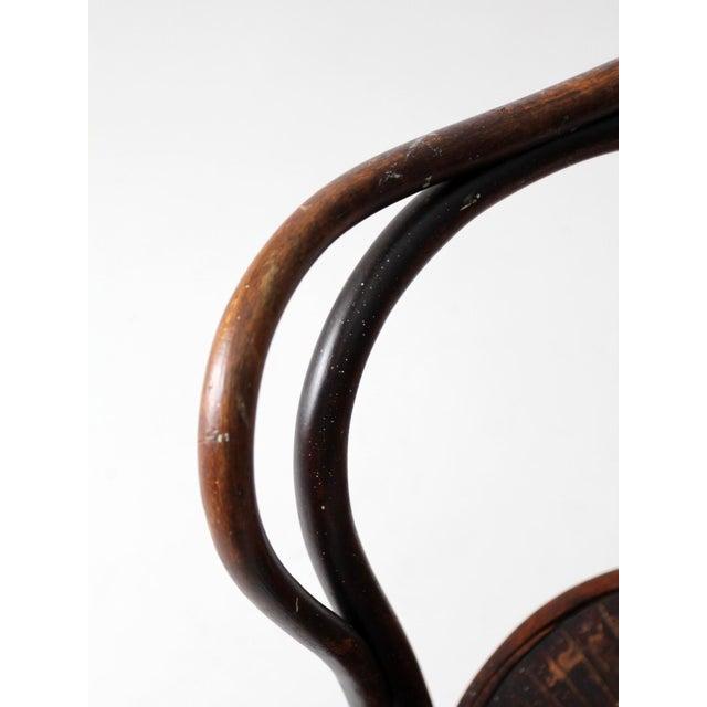 Antique Jacob & Josef Kohn Bentwood Chair For Sale - Image 10 of 12