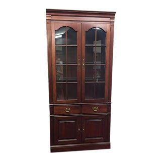 Pennsylvania House Lighted Cabinet For Sale