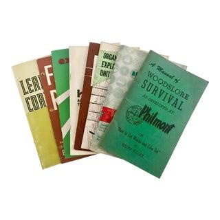 1960s Vintage Boy Scout Manuals - Set of 8 For Sale