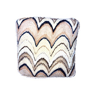 1960s Vintage Missoni Inspired Pillow For Sale