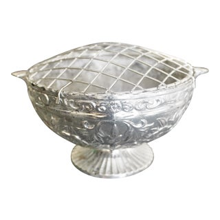Silver Plated Rose Bowl For Sale