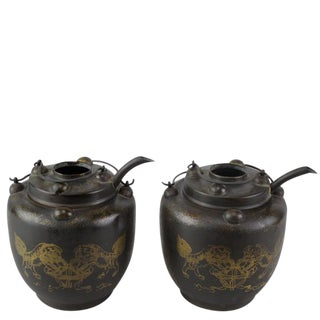 Chines Hand Warmer Pot-a Pair For Sale