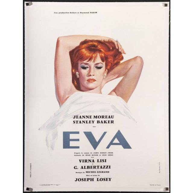 "Jeanne Morea ""Eva"" French Film Poster - Image 1 of 2"