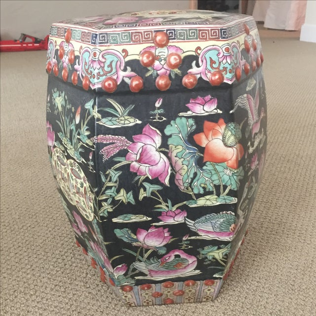 Chinoiserie Garden Stool - Image 9 of 9