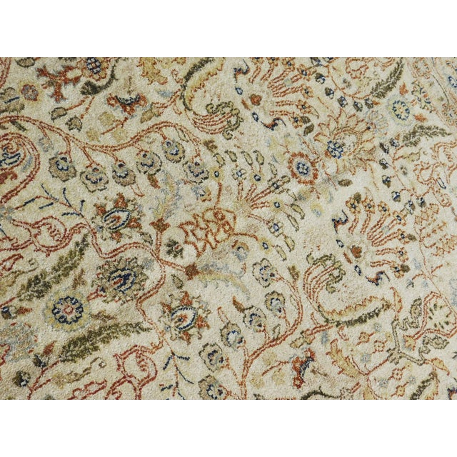 Indian Hand-Knotted Rug - 6' x 9' For Sale - Image 4 of 10