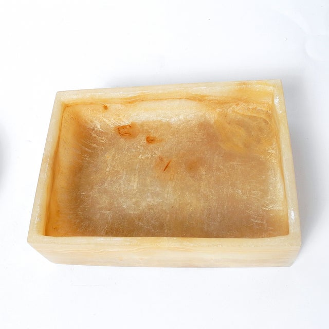 Polished Onyx Trinket Box & Dish - A Pair - Image 5 of 5