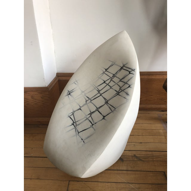 Contemporary Large Contemporary Ceramic Sculpture For Sale - Image 3 of 7