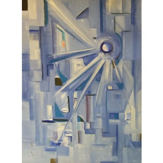 Post Modernist Abstract Acrylic Composition