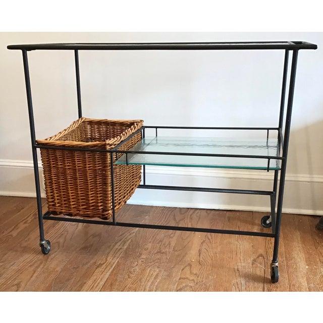 1960s 1960s Mid Century Modern Paul McCobb Bar Cart For Sale - Image 5 of 11