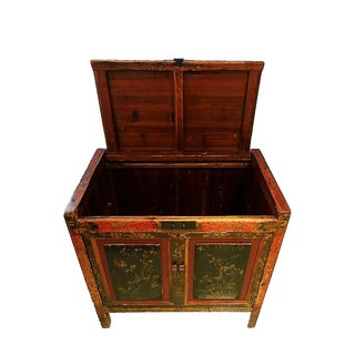 """Antique Chinese Hand-Painted Chest 23"""" W by 33"""" H Preview"""