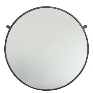Sarreid Ltd Round Metal Mirror