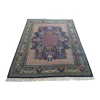 Mid 20th Century Large Persian Design Hand-Knotted Rug - 8′3″ × 11′1″