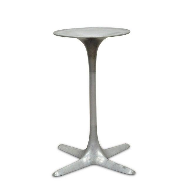 Burke Mid-Century Modern Aluminum Tulip Propeller Dining Table Base For Sale - Image 12 of 12