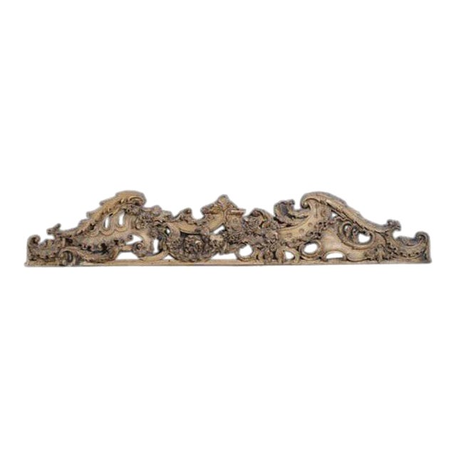 English Carved Wooden Architectural Fragment For Sale - Image 4 of 4