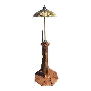 Custom Built Lamp Gun Rack