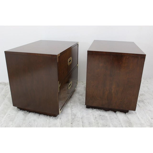 Mid Century Modern end tables/nightstands - a Pair - Image 8 of 11
