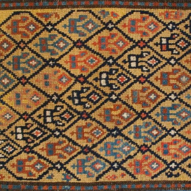 "Islamic 19th Century Gangeh Carpet - 3'3"" x 9' For Sale - Image 3 of 4"
