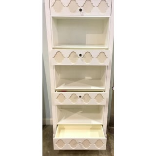 Bungalow 5 Tall Modern White Bookshelf Preview