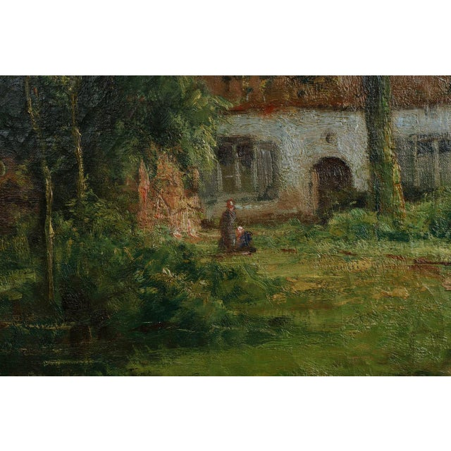 Lake Cottage Painting by Léon Riket - Image 3 of 9