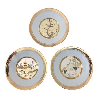 Hamilton Collection Spring Plates - Set of 3 For Sale