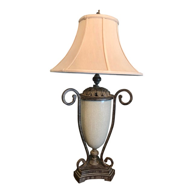 Table Lamp & Lamp Shade For Sale