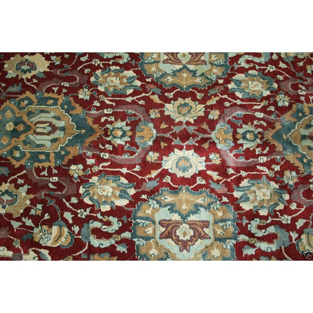 Islamic 1930s Vintage German Persian Sultanabad Design Rug - 8′8″ × 18′ For Sale - Image 3 of 7
