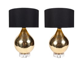 Image of Lucite Table Lamps