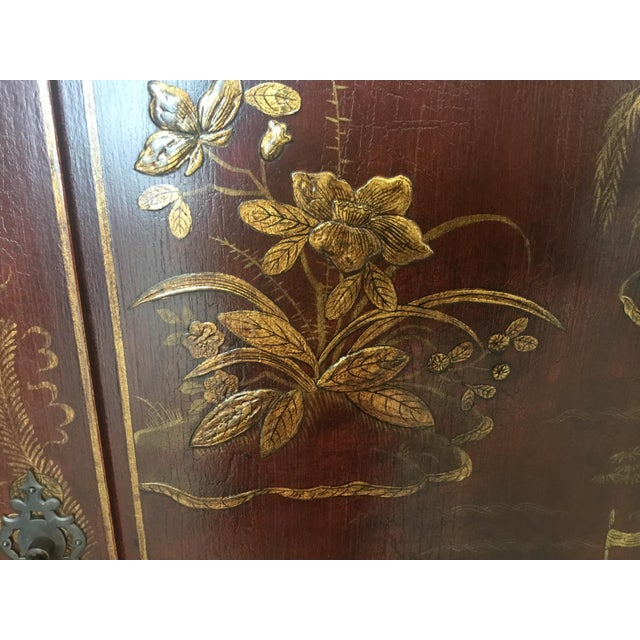 Chinoiserie Cabinet For Sale - Image 10 of 12