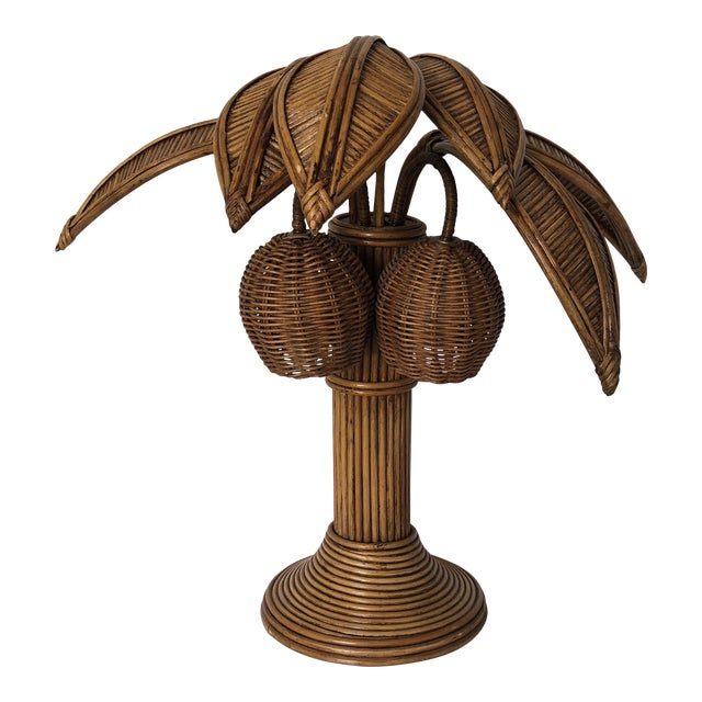 2548ce33fc971 Mario Lopez Torres Style Palm Tree Table Lamp For Sale