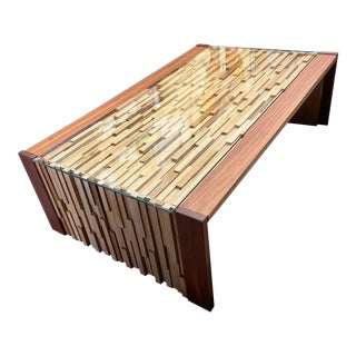 Percival Lafer Folding Coffee Table For Sale