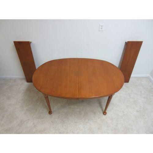 Vintage Conant Ball Maple Spoon Foot Dining Room Banquet Conference - 4 foot conference table