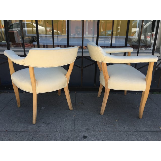 Mid-Century Sculptural Armchairs - A Pair For Sale - Image 5 of 11