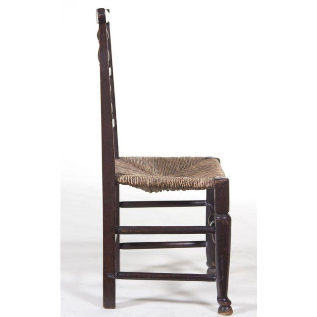 Country English 19th Century Farmhouse Chair For Sale - Image 3 of 5
