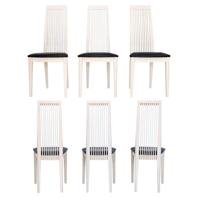 Italian Potocco Tall Dining Chairs, Set of 6 For Sale - Image 10 of 10