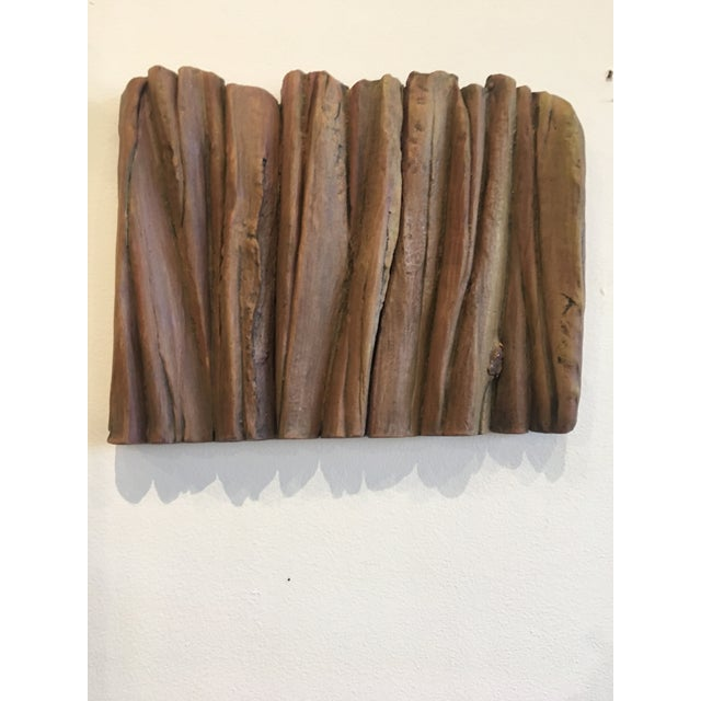 Ceramic Waves Wall Sculpture - Image 2 of 5