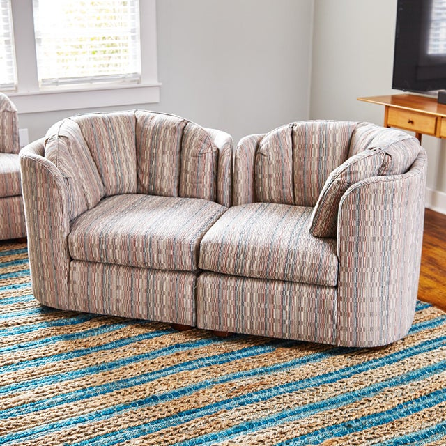 Mid-Century Henredon 5 Piece Sectional Sofa For Sale - Image 12 of 13