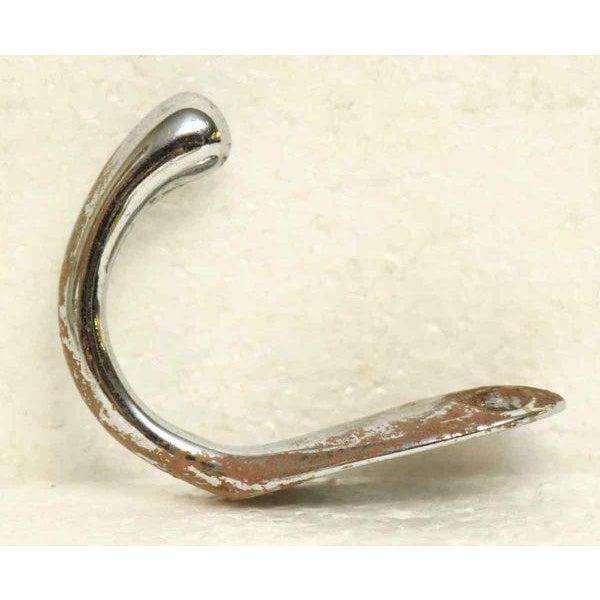 Modern Chrome Brass Hooks -Set of 3 For Sale - Image 4 of 5
